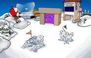 April Fools' Party 2017 Snow Forts