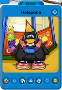 Halopona Player Card - Late September 2019 - Club Penguin Rewritten (2)