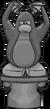 Spooky Penguin Statue