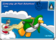 Jet Pack Postcard