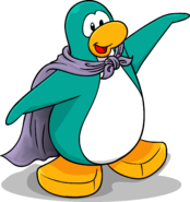 Lavender Cape Penguin