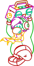 Cadence's Neon Background Artwork