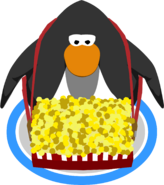Popcorn Tray in-game
