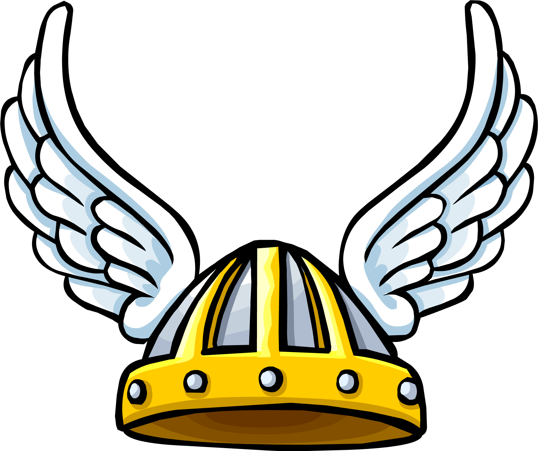 Winged Viking Helmet | Club Penguin Rewritten Wiki | Fandom