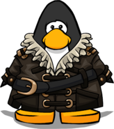 Swashbuckler's Leather Coat PC