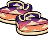 Sunset Canvas Shoes