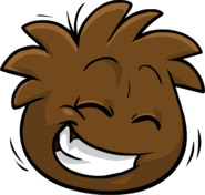 Brown Puffle Love Your Pet