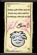 Dojo Puffle Scroll