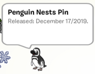 Penguin Nests Pin SB