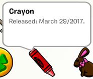 Crayon Pin SB