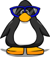 Giant Blue Sunglasses PC