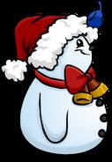 Santa Hat Snowman sprite 007