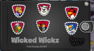 Wicked Wickz Stampbook