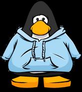 Bright Blue Hoodie PC