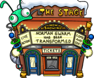 Norman Swarm Has Been Transformed - Stage Exterior
