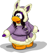 Cozy Winter Coat penguin