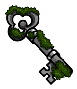 Moss Key Pin