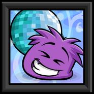 Purple Puffle Picture sprite 002