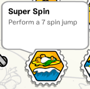 Super spin stamp book