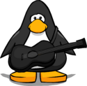 Black Acoustic Guitar PC