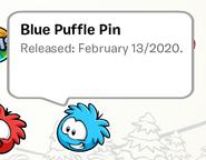 Blue Puffle Pin SB