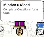 Mission 6 Medal SB