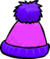 Pink and Purple Toque
