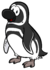 Penguin Nests Pin