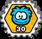 SOS 30 Stamp