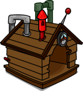 Brown Puffle House 3