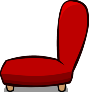 Red Plush Chair sprite 003