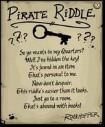 Rockhopper's Key Riddle