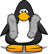 Grey Feather Boa PC