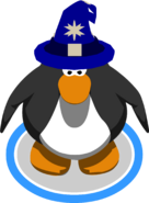 Blizzard Wizard Hat IG