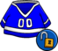 Blue Hockey Jersey Unlockable