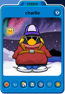 Charlie Player Card - Late January 2020 - Club Penguin Rewritten (2)