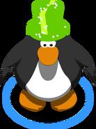 Green Cosmic Hat IG