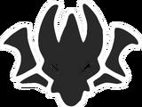 Scorn Crest Pin