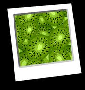 Crazy Kiwi Background icon