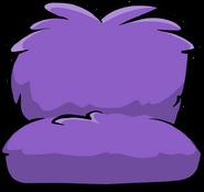 Fuzzy Purple Couch sprite 001