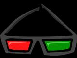 Dark 3D Glasses