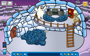 Hagrid Igloo - Late May 2019 - Club Penguin Rewritten