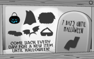 Halloween Party Interface Day 1
