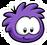 Purple Puffle Pin