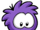 Purple Puffle Pin