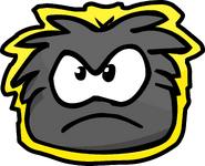 Black Puffle Pet Shop Sign