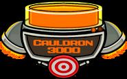 Cauldron 3000 filled