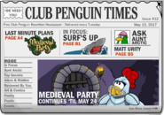 Club Penguin Times Issue 12