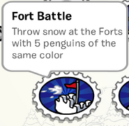 Fort Battle Stamp Book