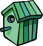 Green Birdhouse sprite 003